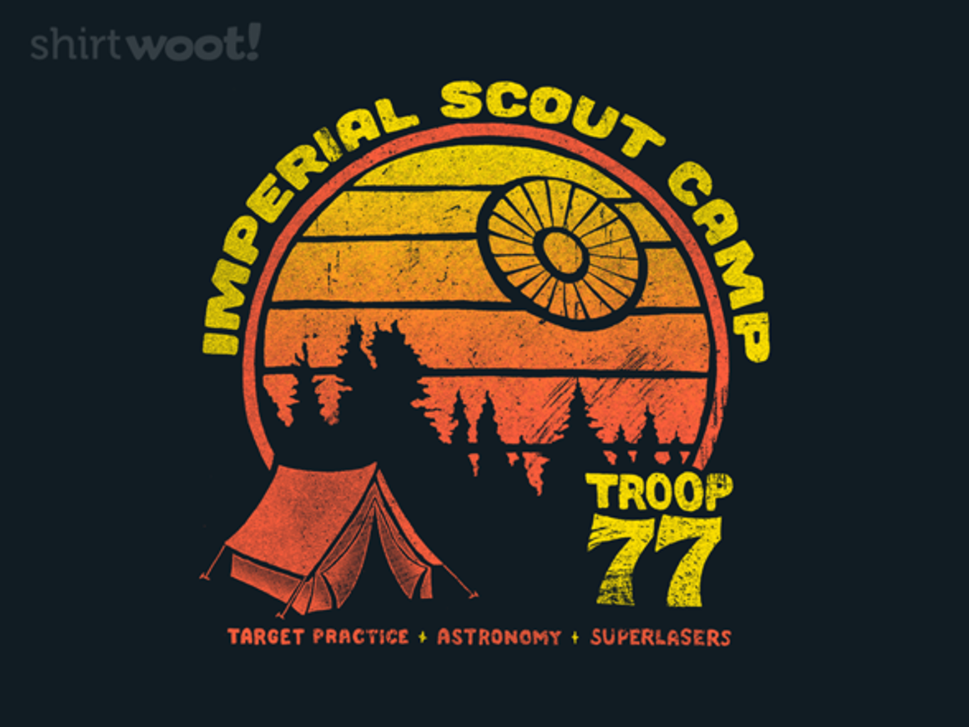 Woot!: Imperial Scout Camp - $15.00 + Free shipping