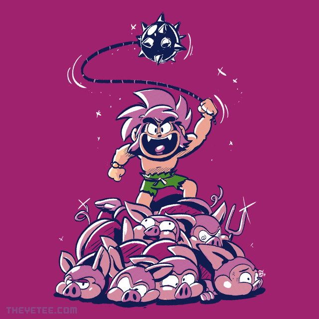 The Yetee: Piggy Pile