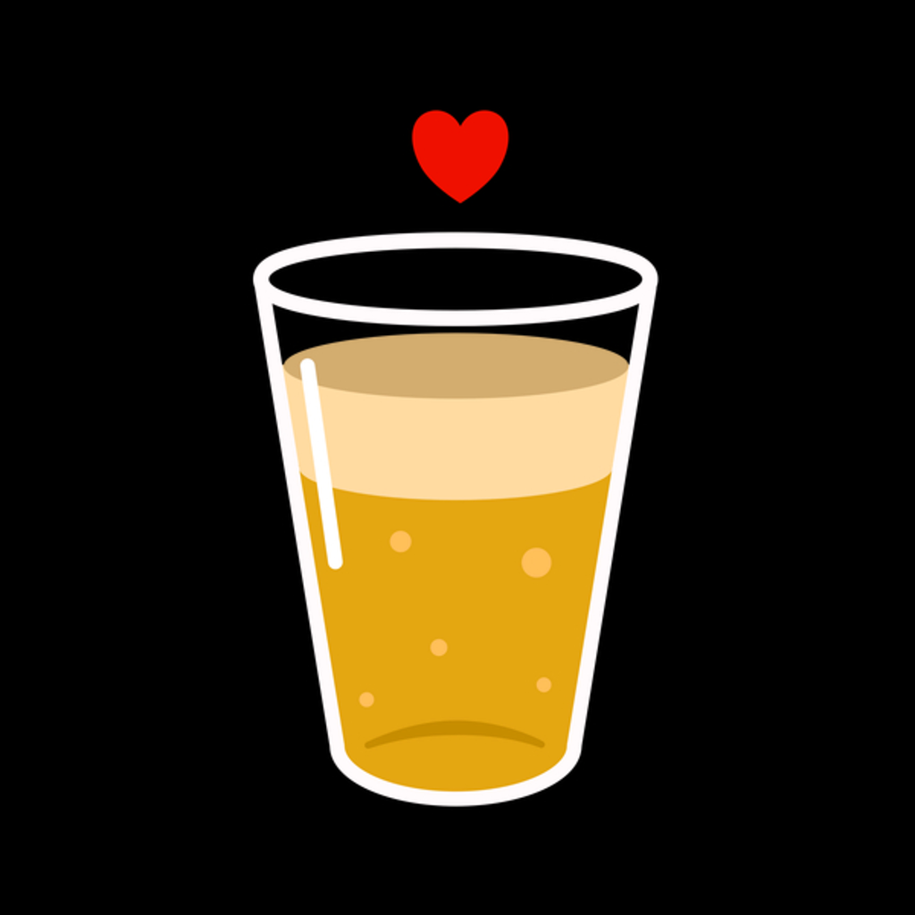 NeatoShop: Heart I Love Beer Retro Vintage