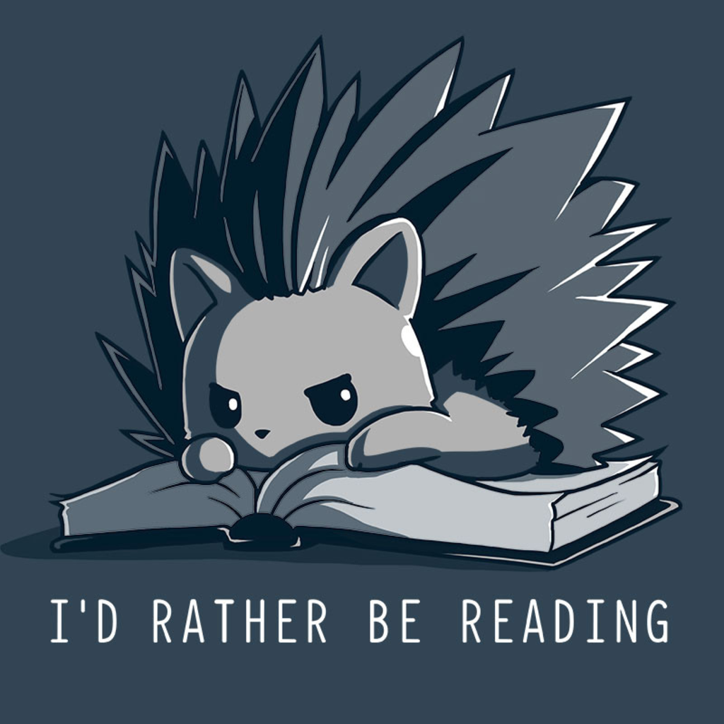 TeeTurtle: I'd Rather Be Reading