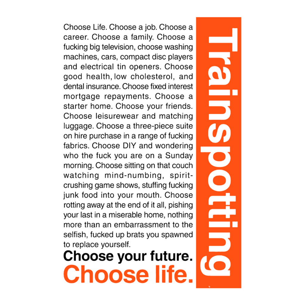 Pampling: Choose Life