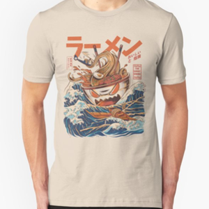 RedBubble: The Great Ramen off Kanagawa