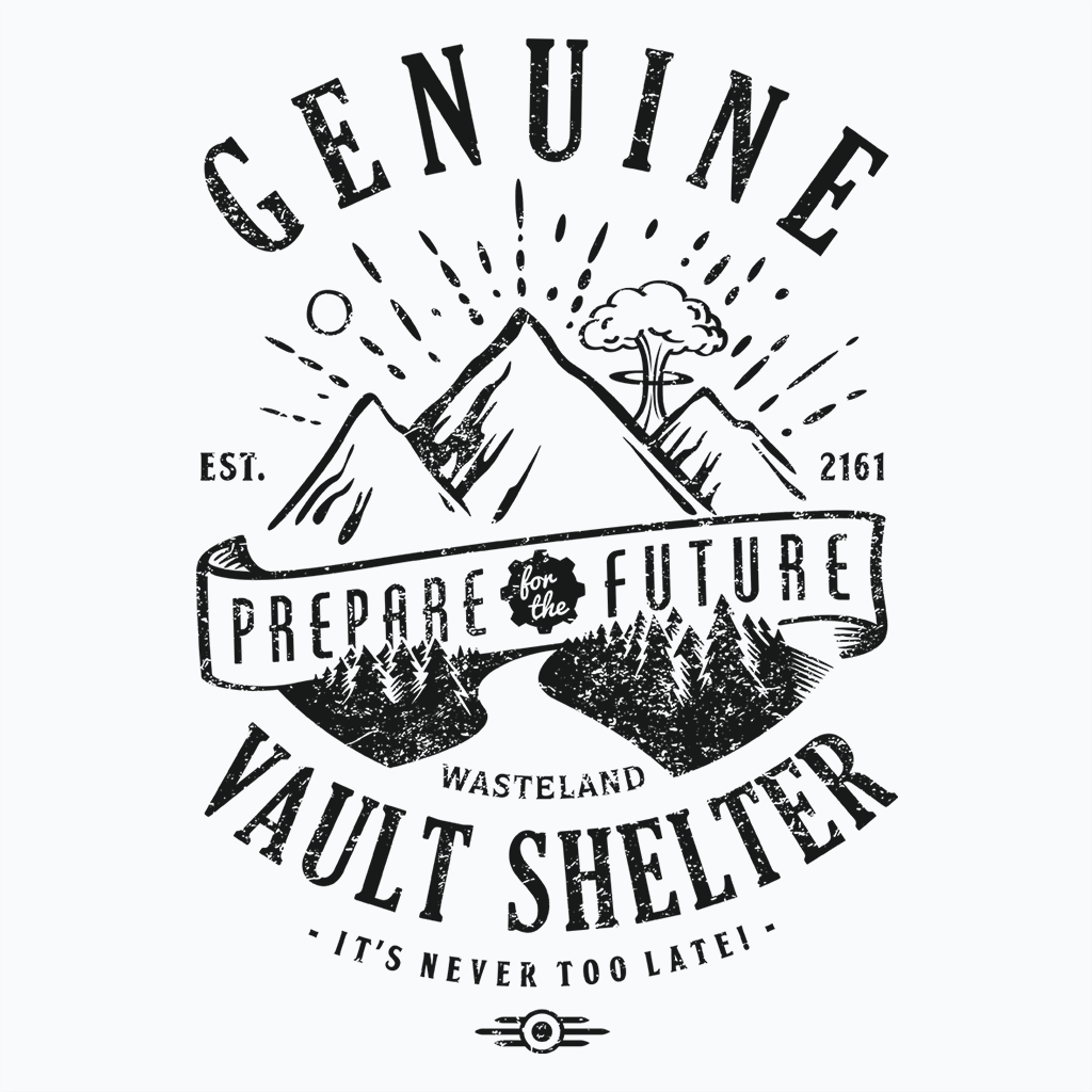 Pop-Up Tee: Genuine Vault Black Ink