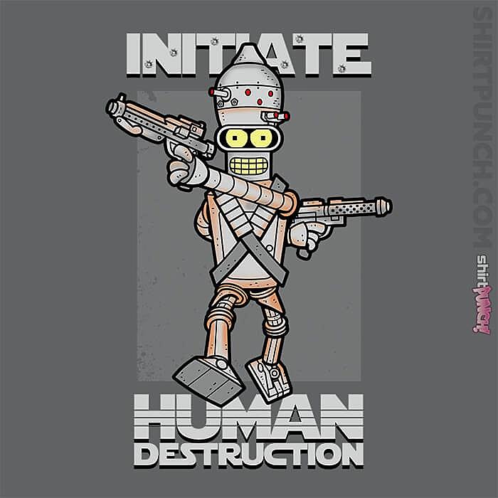 ShirtPunch: Initiate Human Destruction