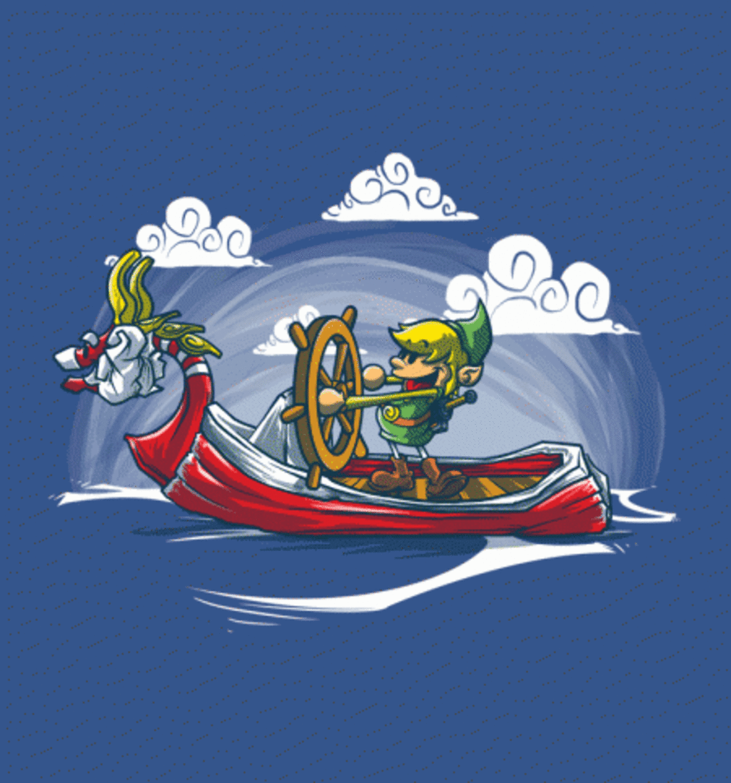 BustedTees: Steamboat Linkie