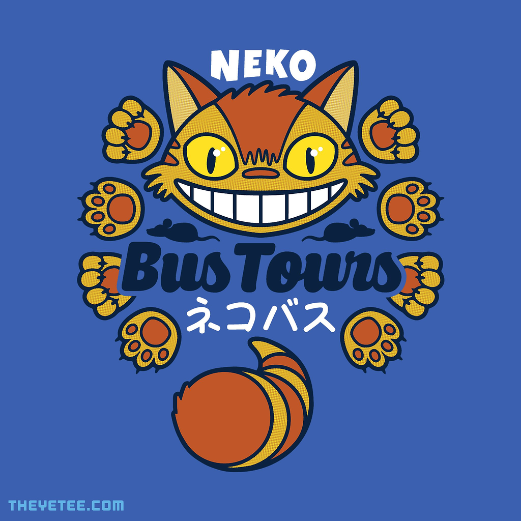 The Yetee: Neko Bus Tours