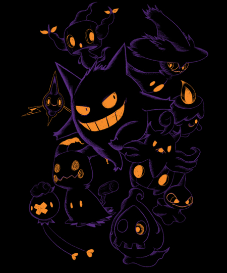Qwertee: Ghost Type Season!