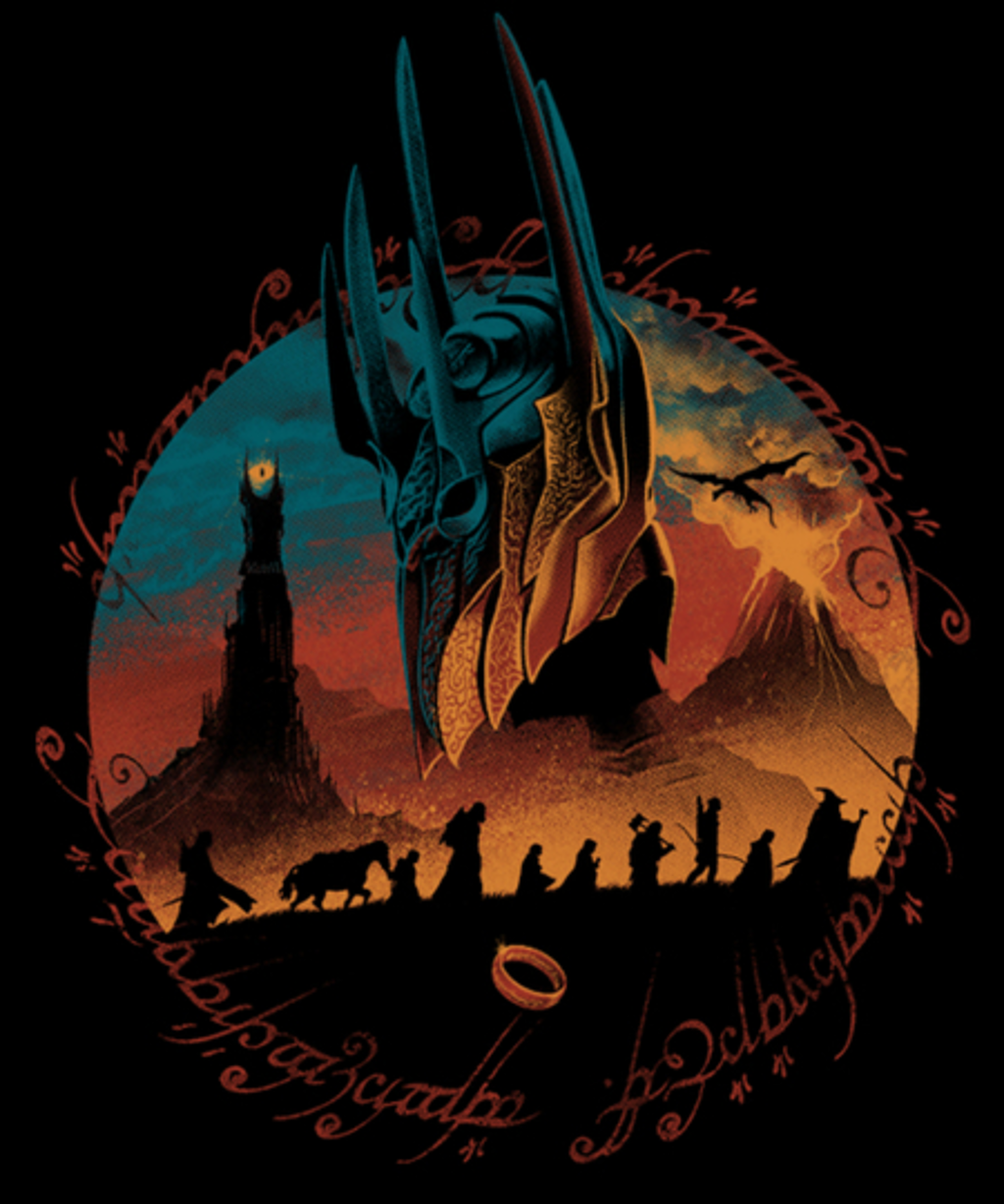 Qwertee: Middle Earth Quest