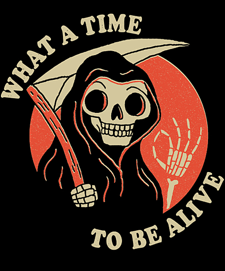 Qwertee: What A Time To Be Alive