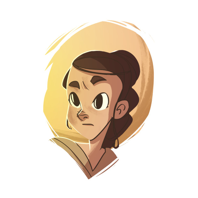 TeePublic: Rey / Star Wars