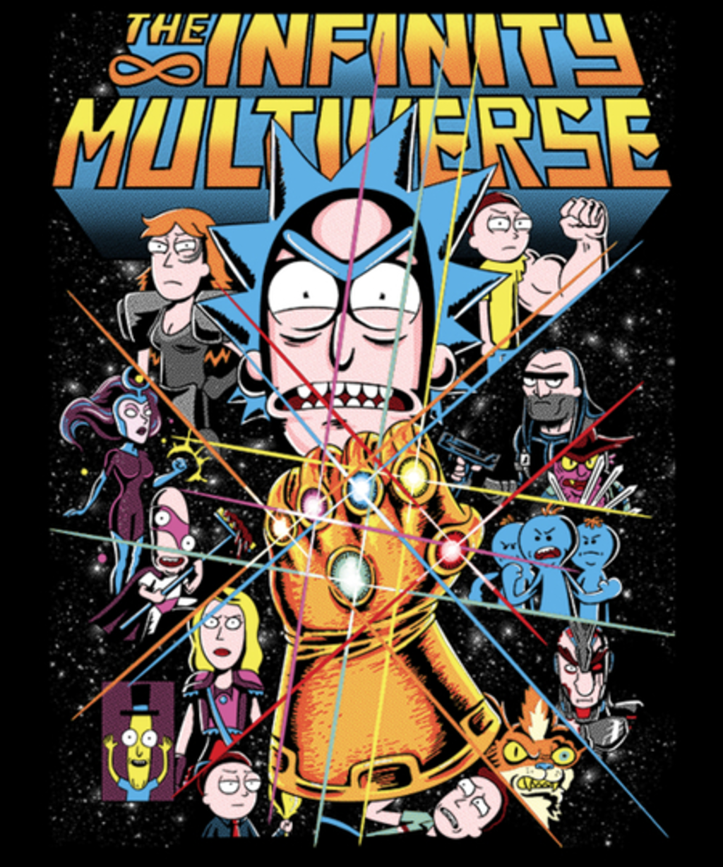 Qwertee: Infinity Multiverse
