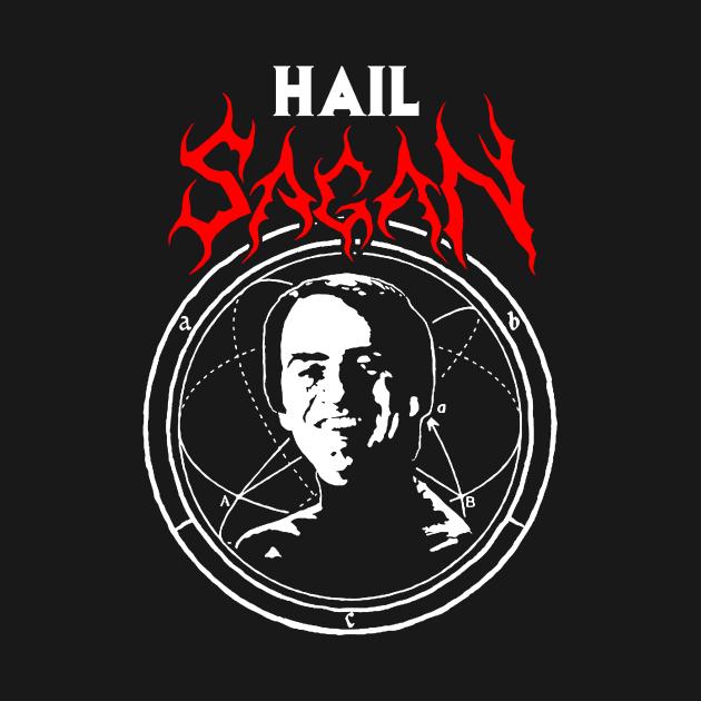 TeePublic: Hail Sagan merch