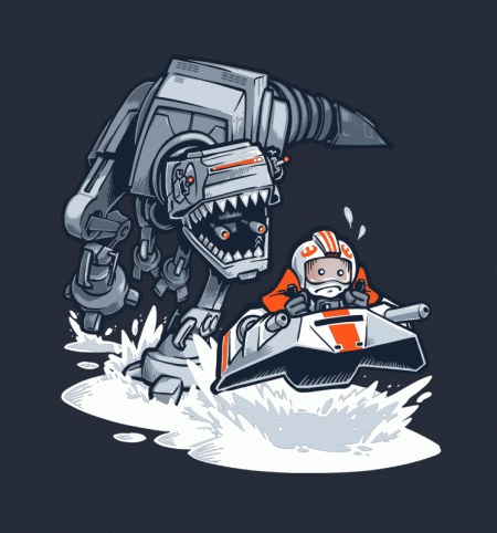 BustedTees: Jurassic Hoth