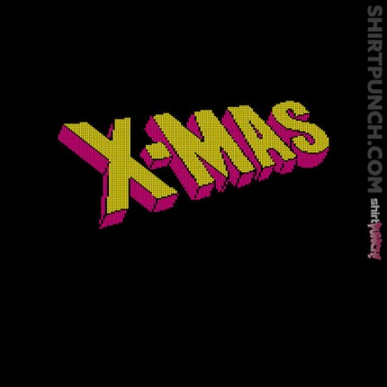 ShirtPunch: Uncanny X-Mas