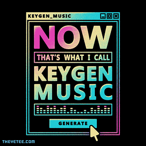 The Yetee: NOW THATS KEYGEN MUSIC