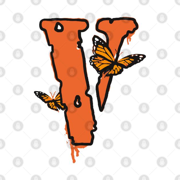 TeePublic: vlone butterfly