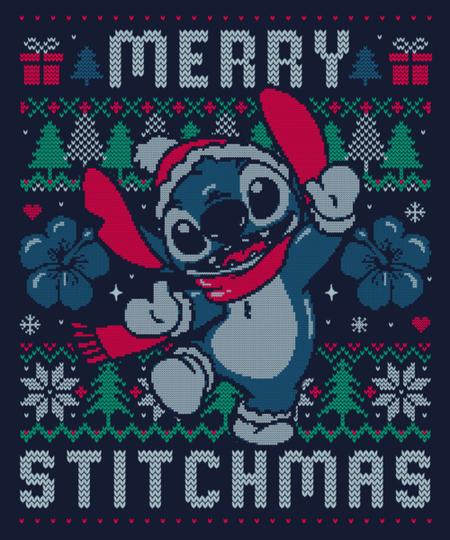 Qwertee: Merry Stitchmas