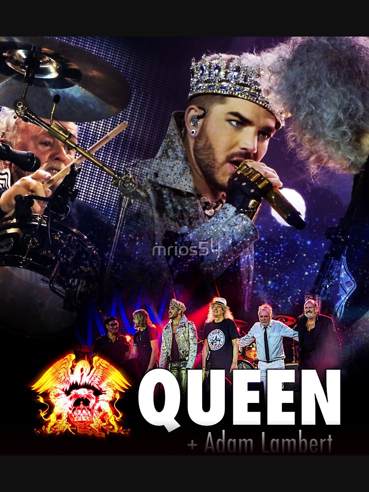 RedBubble: ADAM LAMBERT & QUEEN TOUR FAVORITE