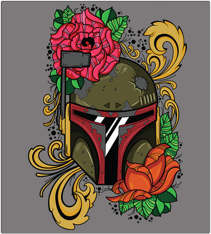Shirt Battle: Boba Flower