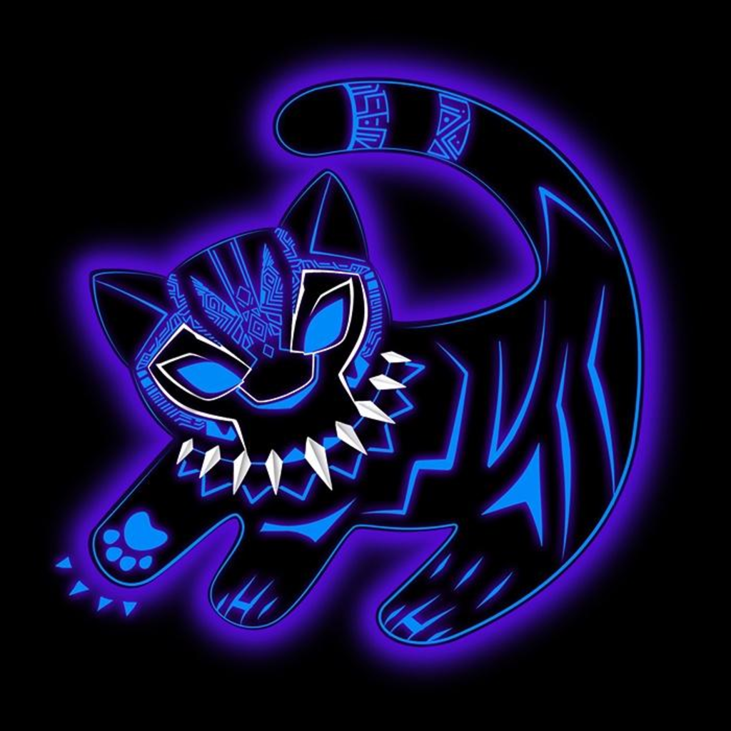 Once Upon a Tee: The Glowing Panther King