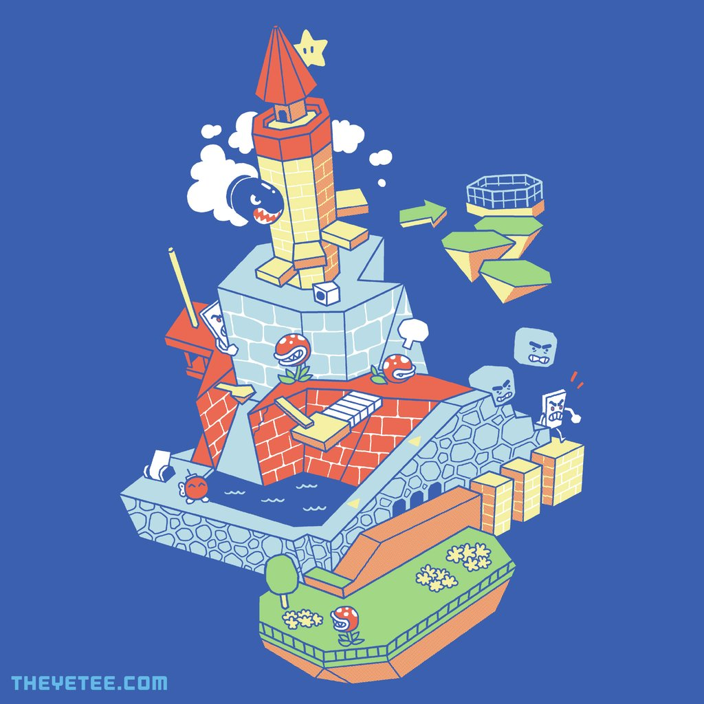 The Yetee: To The Top of the Fortress