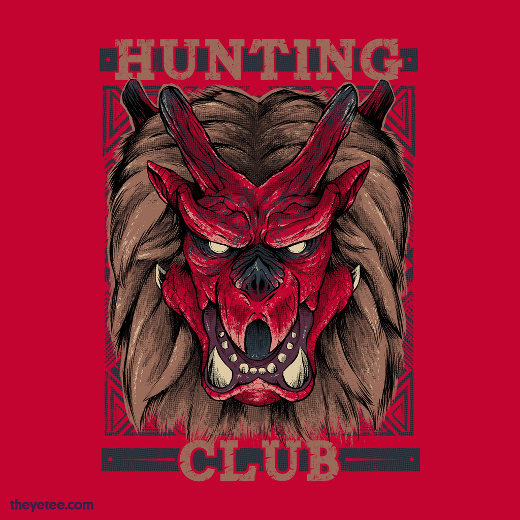 The Yetee: Hunting Club: Goss