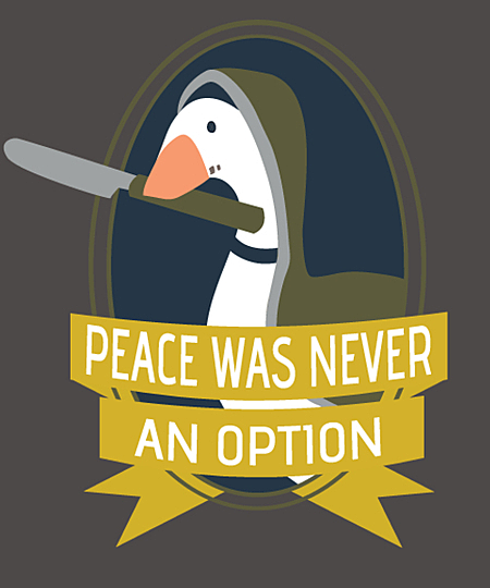 Qwertee: Identity Naib Goose