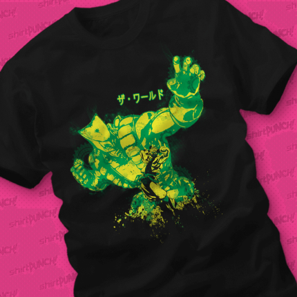 ShirtPunch: Za Warudo