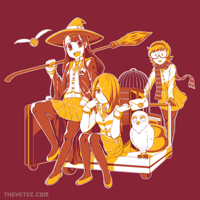 The Yetee: Little witch school