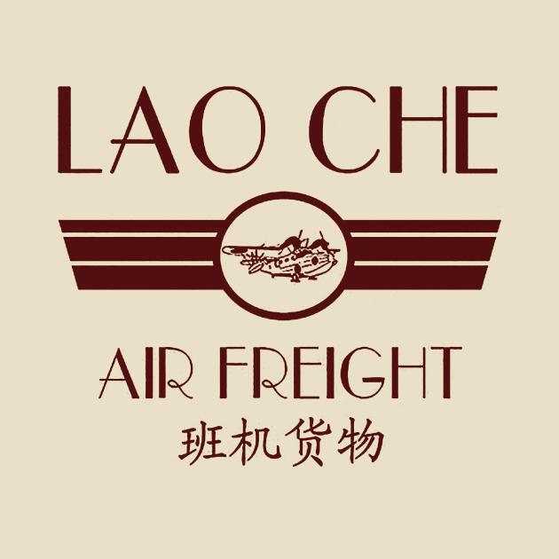 TeePublic: Lao Cho Air Freight