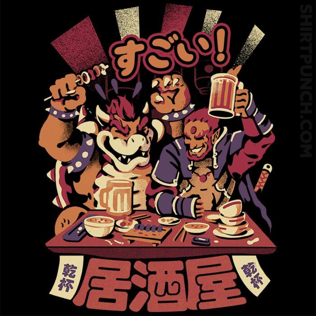 ShirtPunch: Villains Izakaya