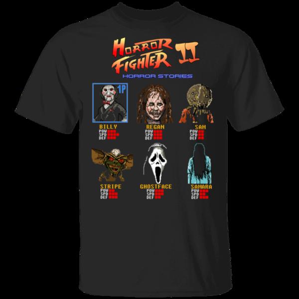 Pop-Up Tee: Horror Fighter 2