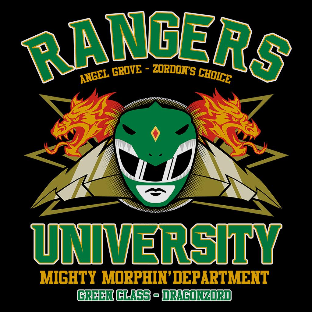 Pop-Up Tee: Rangers U Green