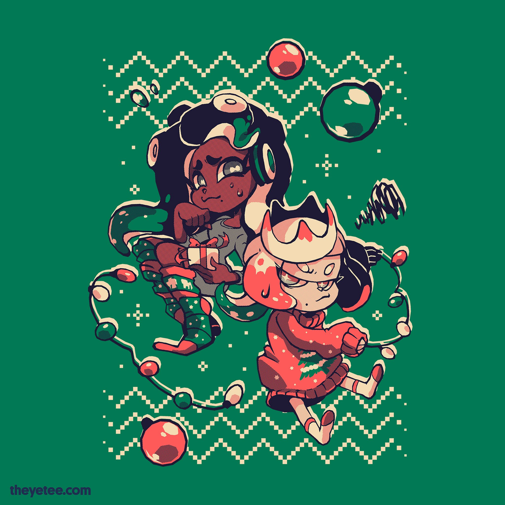 The Yetee: Neither sweaters nor socks