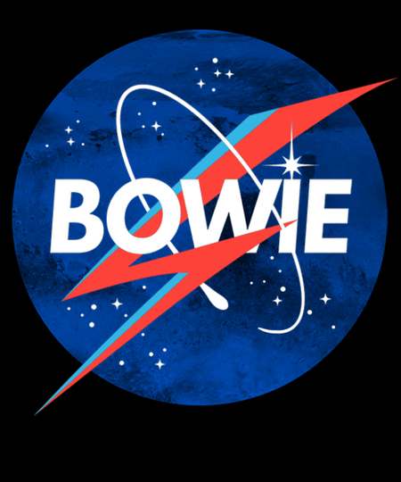 Qwertee: Iconic Starman