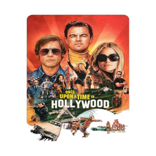 TeePublic: Once Upon a Time in Hollywood