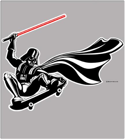Shirt Battle: DARTH SKATES