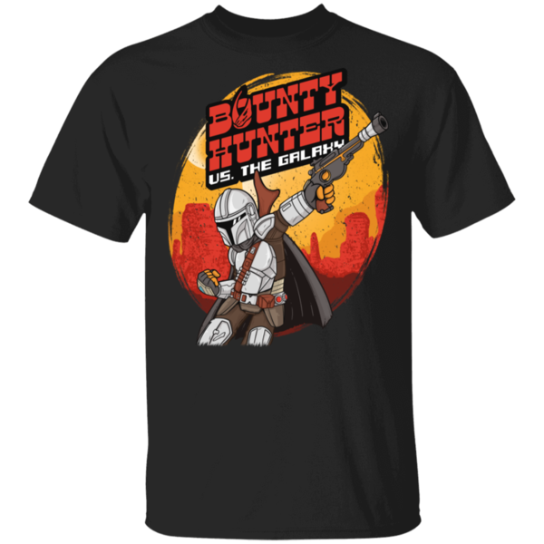Pop-Up Tee: Bounty Hunter vs the Galaxy