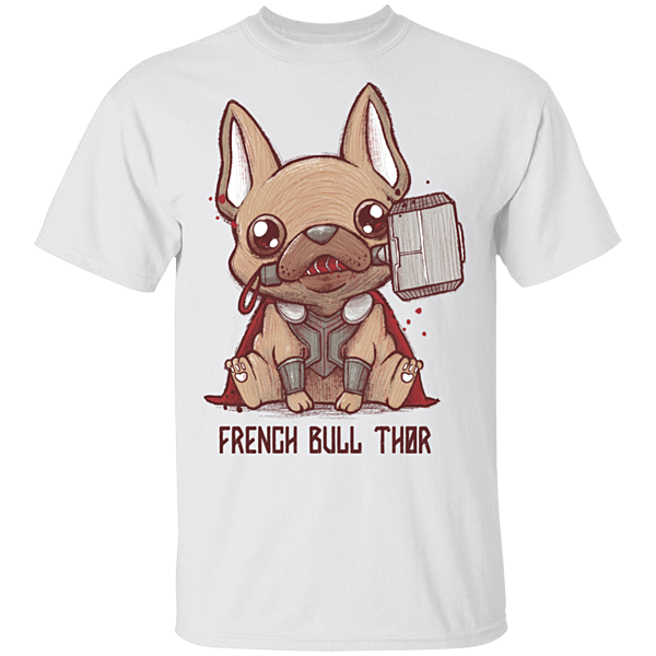 Pop-Up Tee: French Bull Thor
