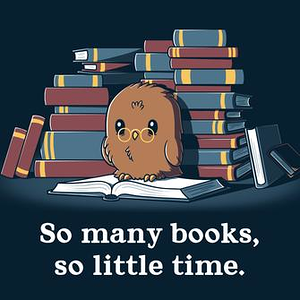 TeeTurtle: So Many Books, So Little Time