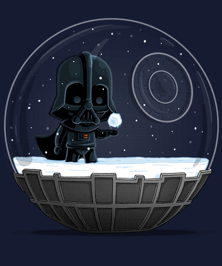Qwertee: Dark Side of the Snow