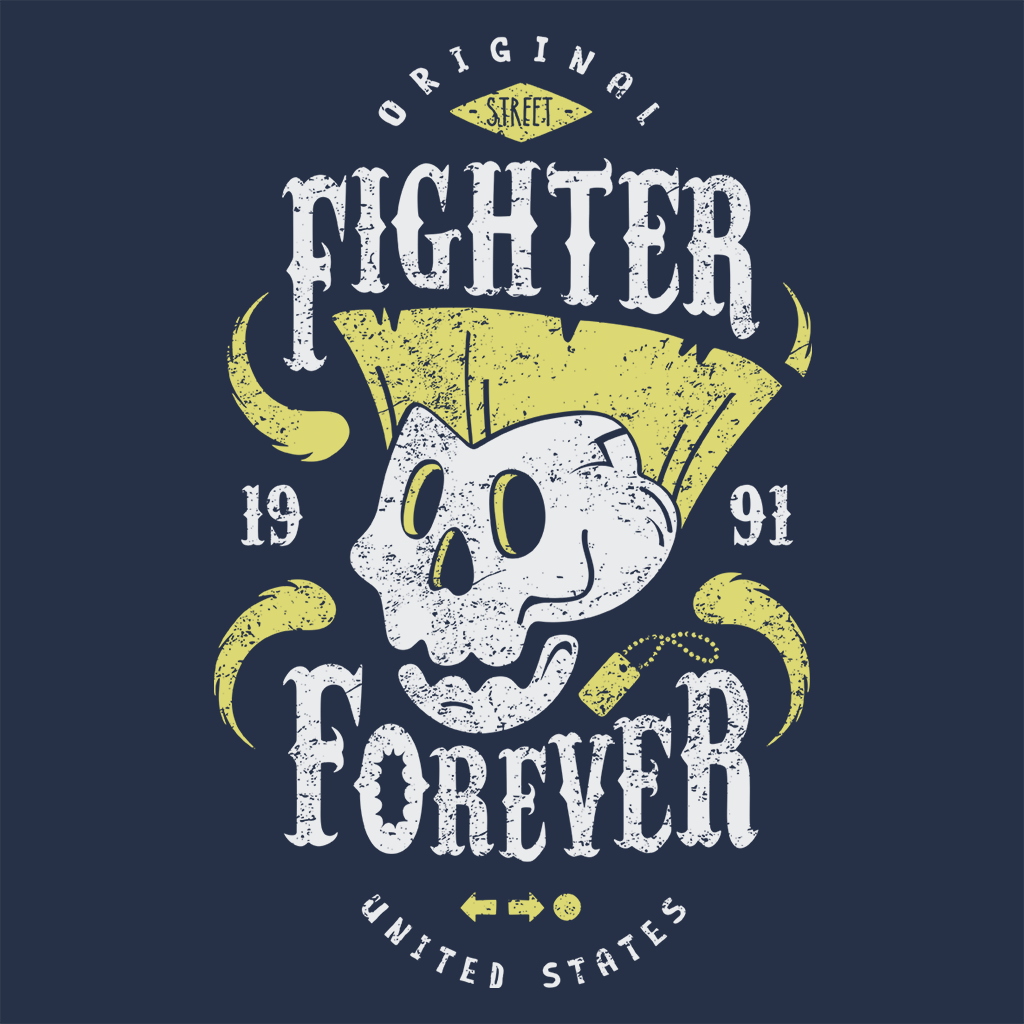 Pop-Up Tee: Fighter Forever Guile