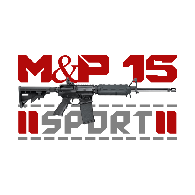TeePublic: AR 15 M&P 15 Sport 2
