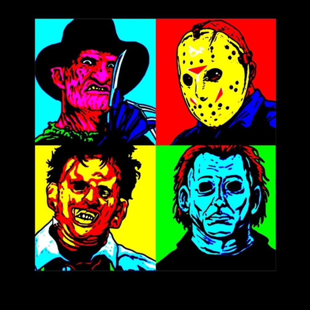 BustedTees: Horror Squad