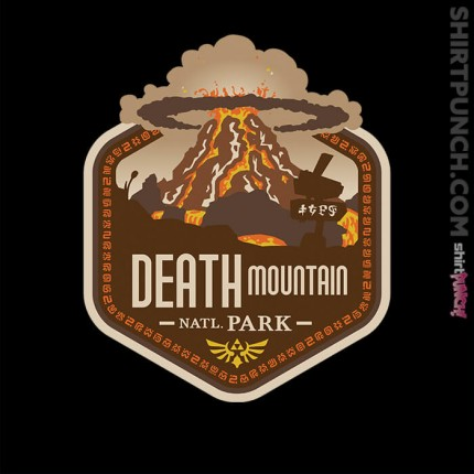 ShirtPunch: Death Mountain National Park
