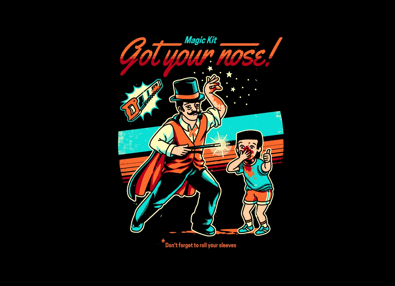 Threadless: Got your Nose