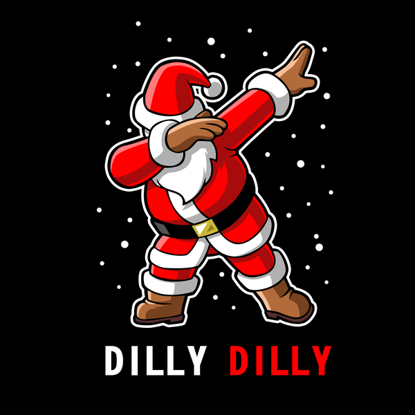 NeatoShop: Dilly Dilly Dabbin Santa Claus