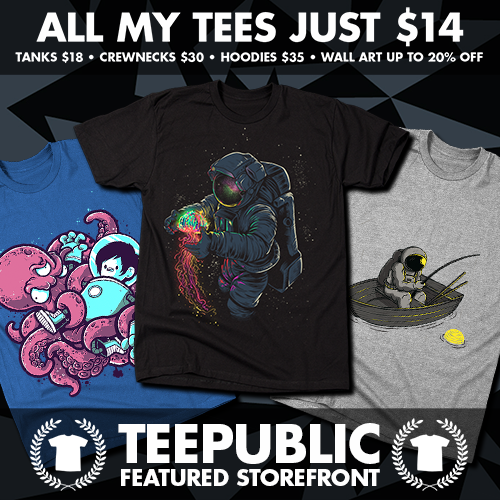 TeePublic: $14 Sale for June 2016