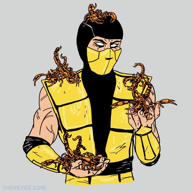 The Yetee: Pet Scorpions