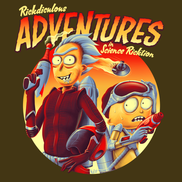 NeatoShop: Adventures in Science Ricktion